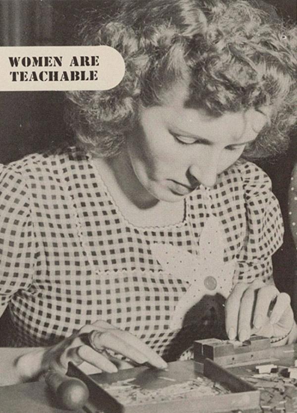 Cuốn cẩm nang quản lý nhân viên nữ từ những năm 1940 khiến nhiều người ngạc nhiên
