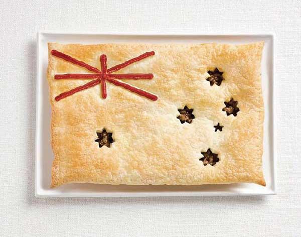 Sáng kiến của công ty quảng cáo Australia: BST lá quốc kỳ là đặc sản của các quốc gia trên thế giới