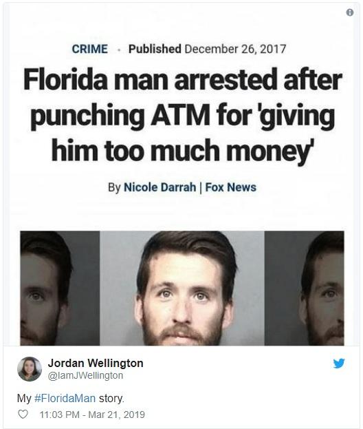 Cùng trào lưu 'Florida Man', khám phá xem độ khìn khìn của bạn là kiểu người Florida nào?