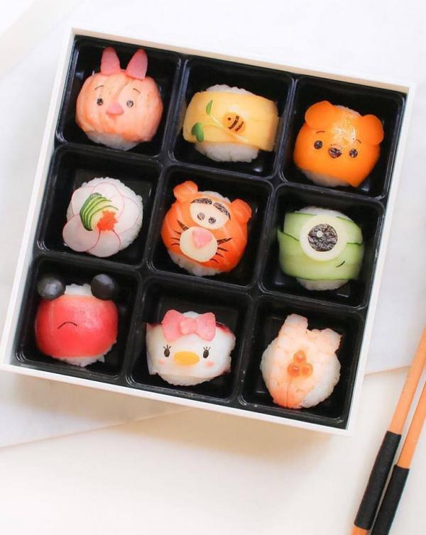 Chiêm ngưỡng các hộp bento 'yêu từ cái nhìn đầu tiên' của quý bà nội trợ Li Ming Lee