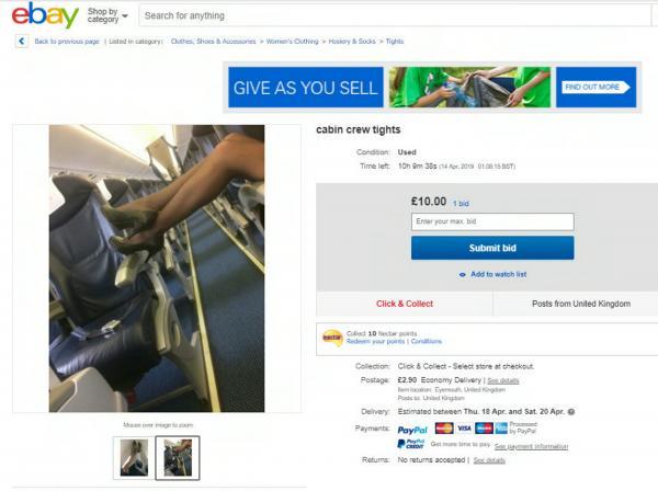 Vì lương thấp, nhiều tiếp viên hàng không bán đồng phục đã qua sử dụng và chưa giặt lên eBay