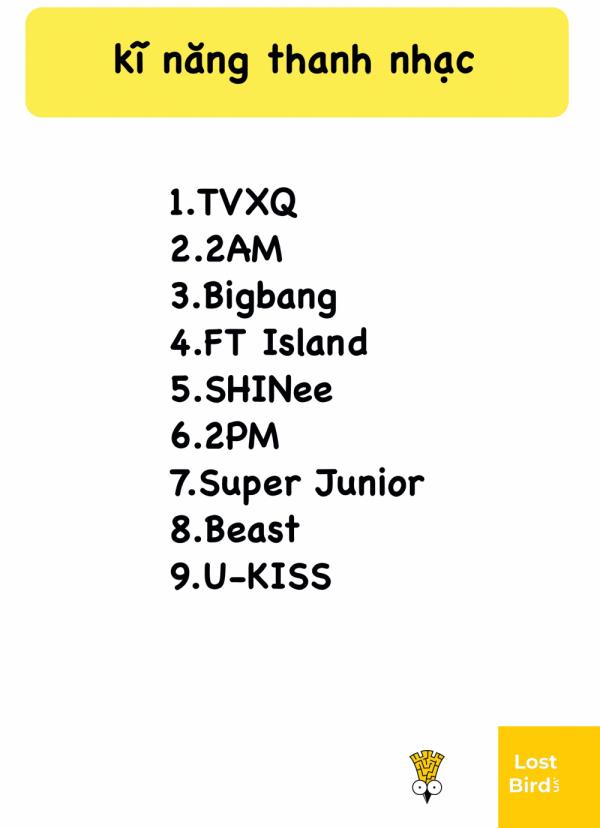 Bảng xếp hạng mức độ nổi tiếng của K-Pop gen 2 từ 9 năm trước bất ngờ hot trở lại: Còn chút gì để nhớ?