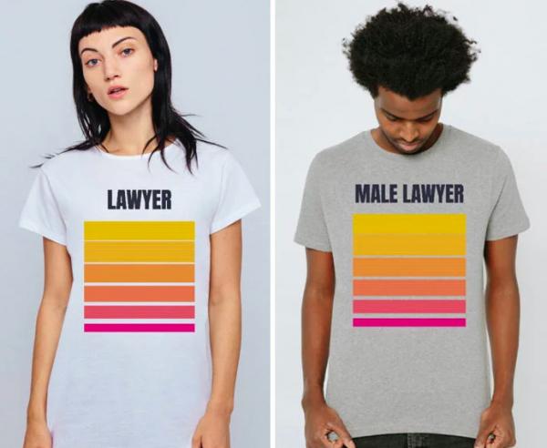 Góc sáng tạo: Áo phông thay đổi vai trò của phụ nữ và đàn ông trong xã hội
