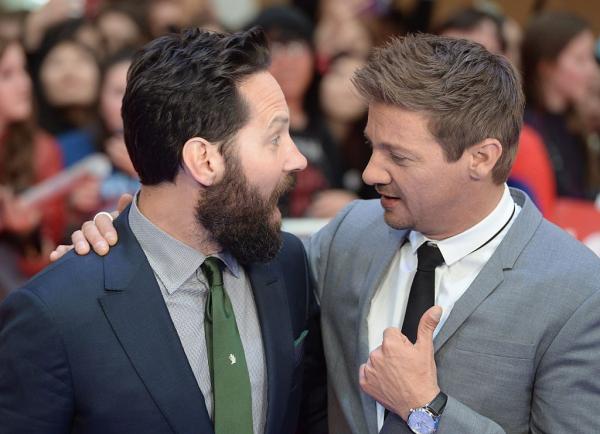 Paul Rudd và Jeremy Renner - Đôi bạn thân 'dính nhau như sam' của nhà Marvel