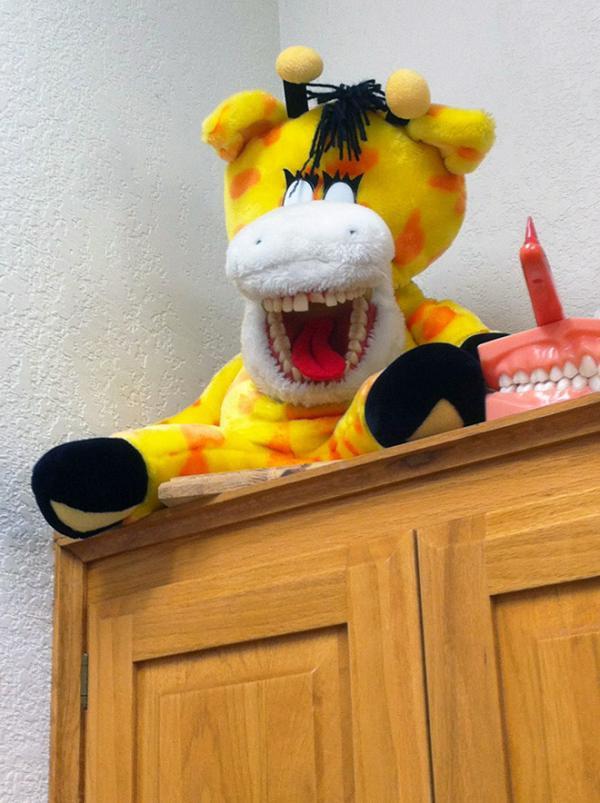 Nỗi ám ảnh tuổi thơ của hàng triệu trẻ em: Gấu bông gắn răng giả ở phòng khám nha khoa