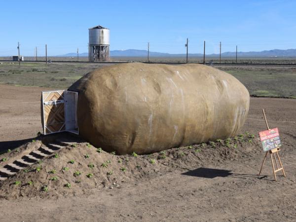 Bạn có sẵn sàng chi 200 USD/đêm để được ngủ bên trong một... củ khoai tây?
