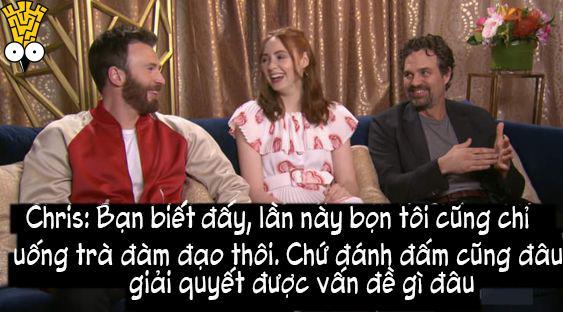 Trước khi phim 'Avengers: Endgame' ra mắt, dàn diễn viên đã phải vất vả né spoil như thế nào?