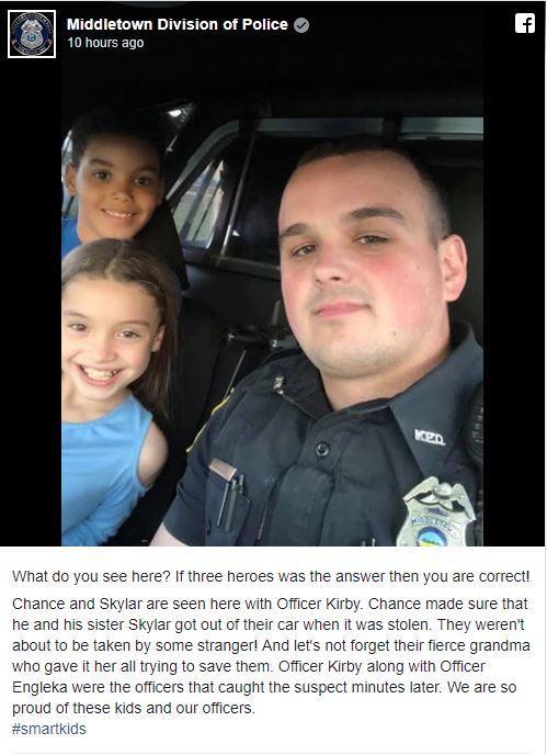 Cứu chị khỏi chiếc xe đang chạy của tên bắt cóc, cậu bé 8 tuổi được gọi là 'anh hùng'