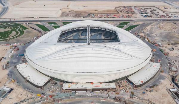 Sân vận động cho World Cup 2022 ở Qatar bị chê là giống... vùng kín phụ nữ