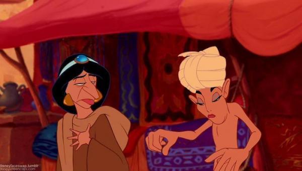 Hoàn hảo như nhân vật Disney mà gặp app hoán đổi gương mặt cũng phải 'khóc thét'
