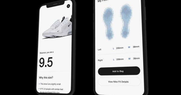 Nike ra mắt ứng dụng Nike Fit mới - Mua giày online không còn là ác mộng