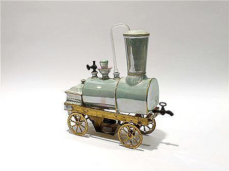 Máy pha cà phê hình đầu tàu xe lửa - 'Món đồ chơi' sang chảnh chỉ dành cho giới nhà giàu