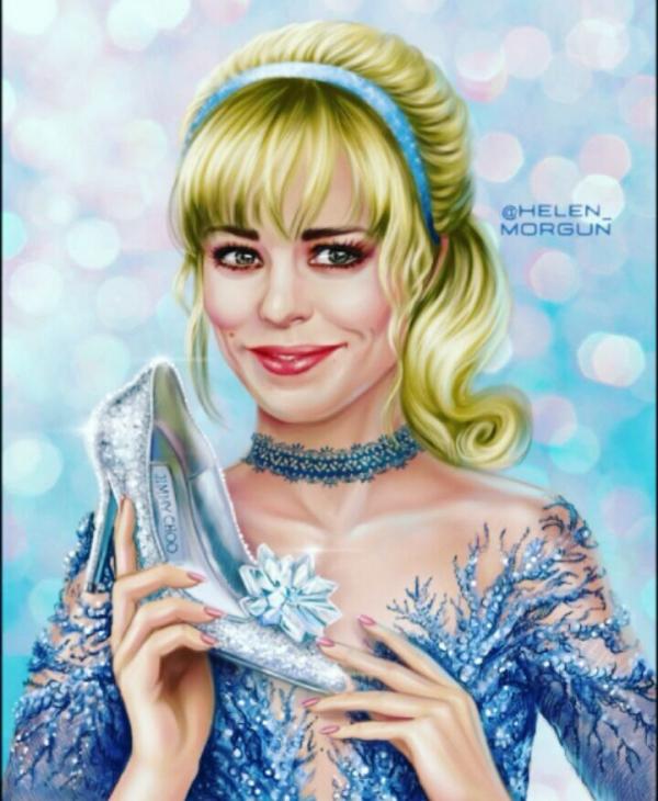 Những sao nữ sẽ trông như thế nào nếu trở thành công chúa Disney?