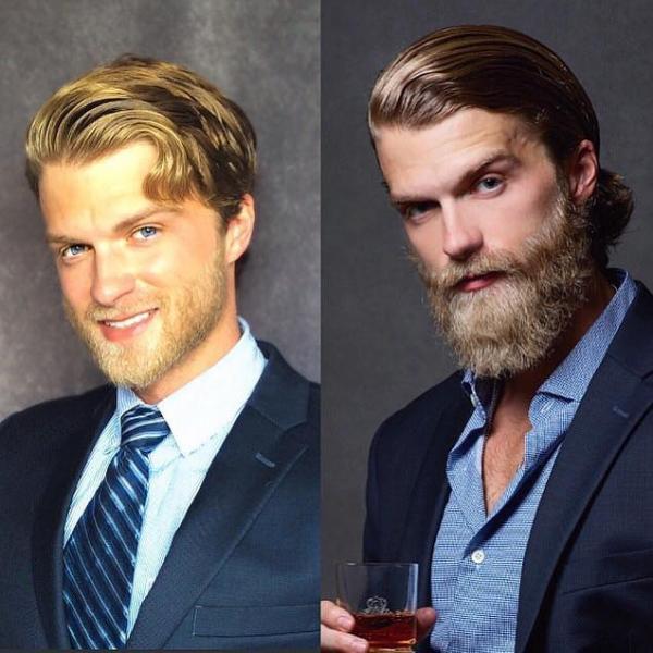 Chẳng cần gì nhiều, chỉ một bộ râu cũng có thể khiến đàn ông trở nên thu hút hơn