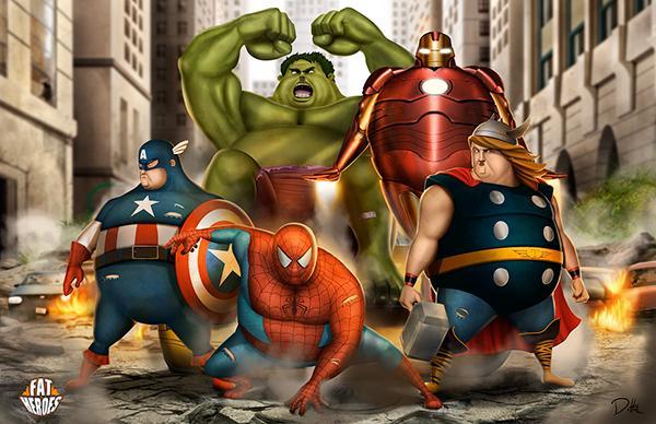 Sẽ ra sao khi các nhân vật phim ảnh sở hữu ngoại hình tương tự thần Thor trong 'Endgame'?