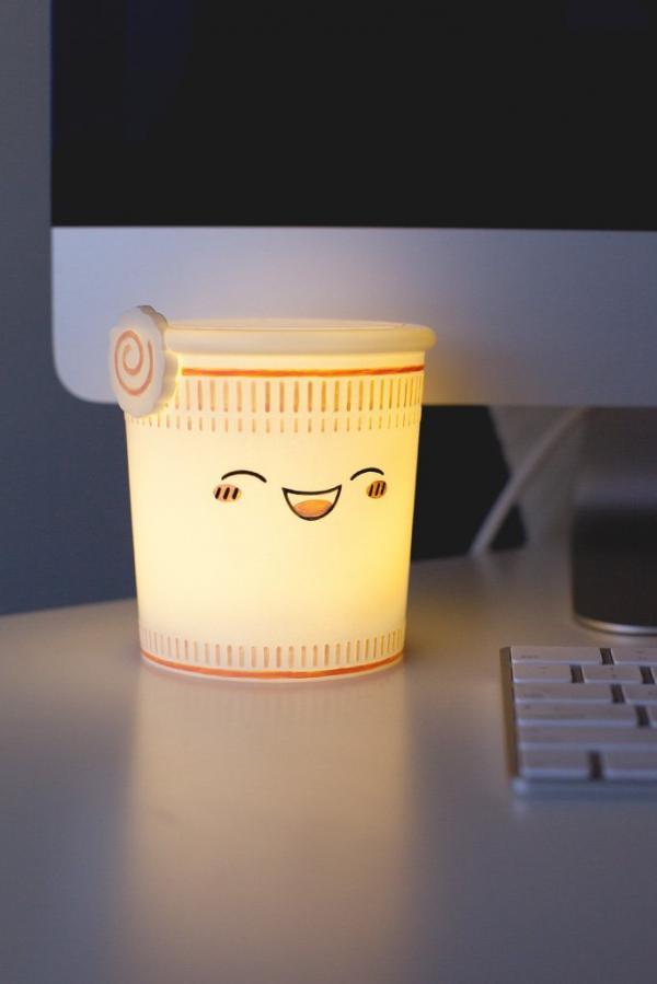 Ăn ngon, giờ ngủ cũng thật ngon với đèn ngủ đồ ăn dễ thương hết nấc