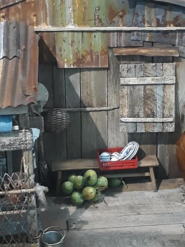 Quê hương miền Tây thu nhỏ đẹp lạ lùng qua bàn tay tài hoa của họa sĩ Lê Xuân Giang