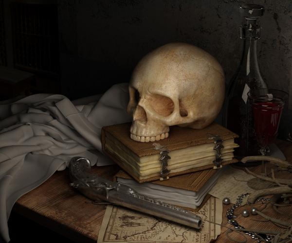 Người phụ nữ kết hôn với hồn ma cướp biển phải trừ tà vì cho rằng 'chồng' đang cố giết mình