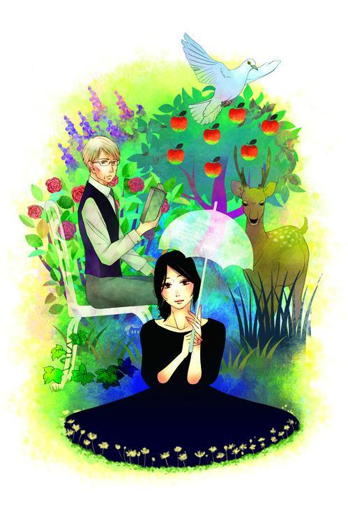 'Nodoka's Garden' – Chuyện tình đẹp mà trớ trêu khi trò 23 tuổi phải lòng thầy giáo U70
