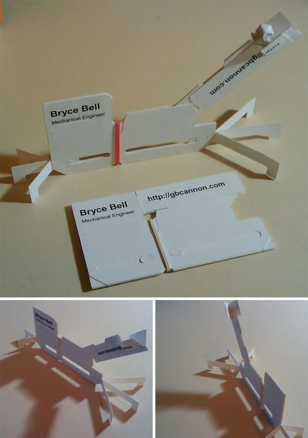 Những thiết kế danh thiếp 'xịn xò' siêu sáng tạo, nhìn vào là biết tính cách chủ nhân
