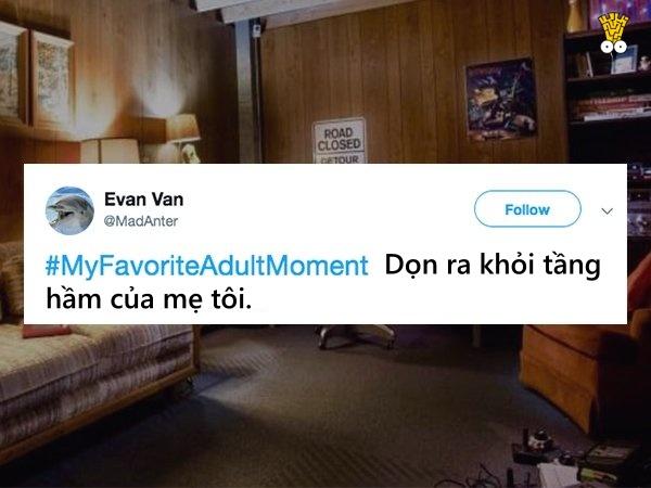 Góc chia sẻ: Khoảnh khắc yêu thích nhất của bạn khi trở thành người lớn là gì?