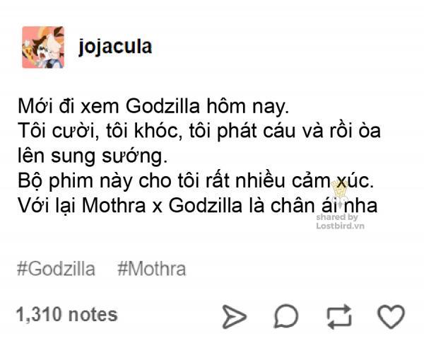 Tổng hợp meme: Dù bị giới phê bình chê bai, Godzilla vẫn được fan yêu thương vô bờ bến