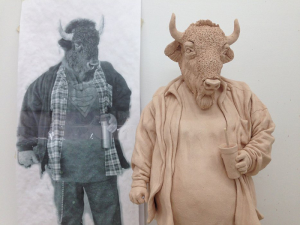Những tác phẩm 'nửa người nửa thú' - một ẩn dụ thâm thúy về sự lãnh cảm của con người
