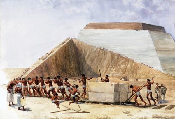 Những người xây dựng kim tự tháp không phải là nô lệ như phim ảnh từng mô tả?