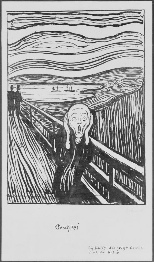 Triển lãm Edvard Munch: Tình yêu và Nỗi lo sợ