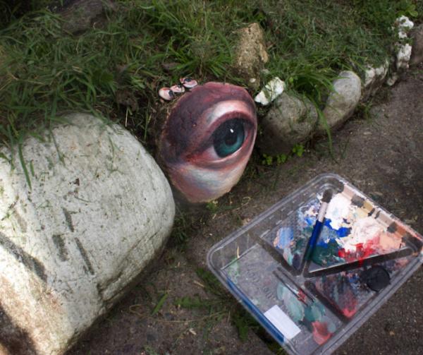 Nghệ sĩ Úc biến những viên đá bình thường thành tác phẩm nghệ thuật