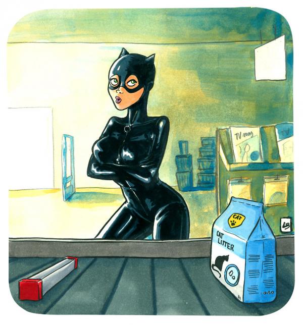 Đoán xem các nhân vật trong phim điện ảnh và hoạt hình sẽ mua gì trong siêu thị?