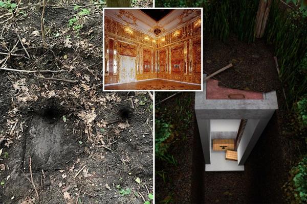 Căn phòng Hổ phách - Kho báu bí ẩn của nhân loại đã lần nữa được tìm thấy?