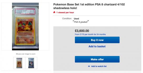 Thẻ Pokémon, đồ chơi quốc dân của thế hệ 8X, 9X hiện đang được bán với giá hơn trăm triệu