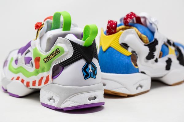 Chớp thời cơ, Reebok tung ngay mẫu giày 'Woody - Buzz Lightyear' để chiều lòng fan Toy Story