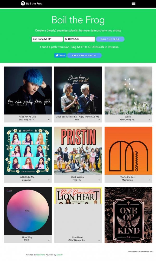 Boil the Frog: Website thú vị của Spotify 'đun sống' người nghe bằng âm nhạc