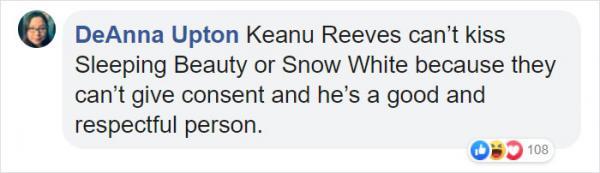 Keanu Reeves hóa thân thành hoàng tử Disney, tại sao không?