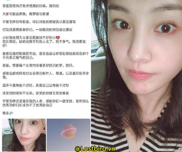 Trịnh Sảng phản hồi diễn xuất kém do tâm trạng sa sút, netizen xứ Trung: 'Bao biện và vô trách nhiệm'