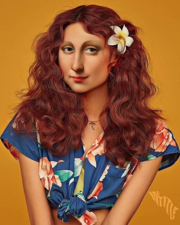 Sẽ ra sao khi những gương mặt biểu tượng của nghệ thuật cổ điển 'xuyên không' đến thế giới hiện đại?