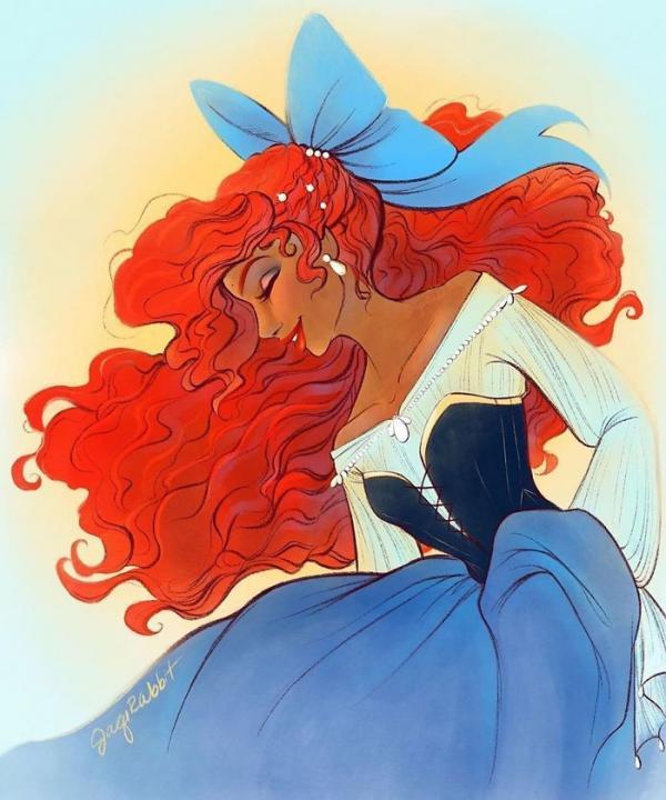Loạt fanart cực đẹp về nàng tiên cá da màu Halle Bailey khiến bạn muốn xem bản chuyển thể 'The Little Mermaid' ngay lập tức