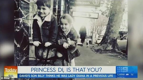 Bố cậu bé 4 tuổi cho rằng con mình là kiếp sau của cố Công nương Diana khiến thế giới một phen xôn xao