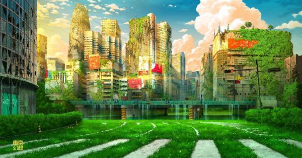 Vẻ đẹp hoang tàn của Tokyo hậu tận thế qua trí tưởng tượng của họa sĩ thiên tài