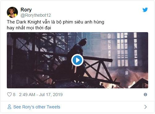 'The Dark Knight' vẫn là bộ phim siêu anh hùng được đánh giá cao nhất mọi thời đại