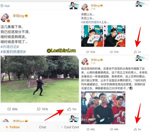 Cá Mực Hầm Mật: Lý Hiện 'đại bạo' thành hiện tượng MXH Weibo, gây sốt với danh xưng bạn trai tháng 7