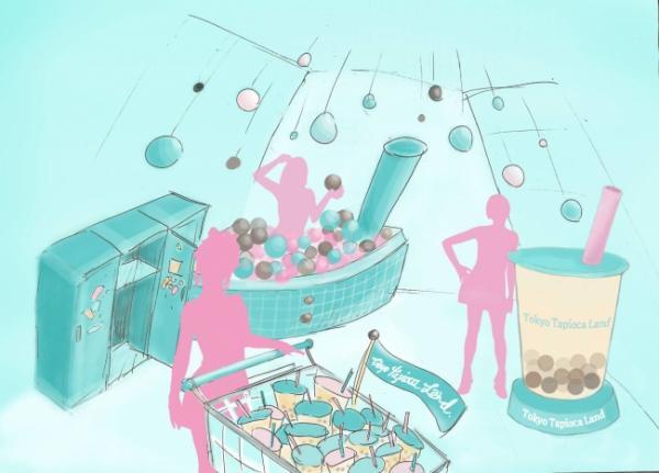 Công viên giải trí 'trà sữa trân châu' mở cửa ở Harajuku, hứa hẹn sẽ là vùng đất ước mơ của bao người