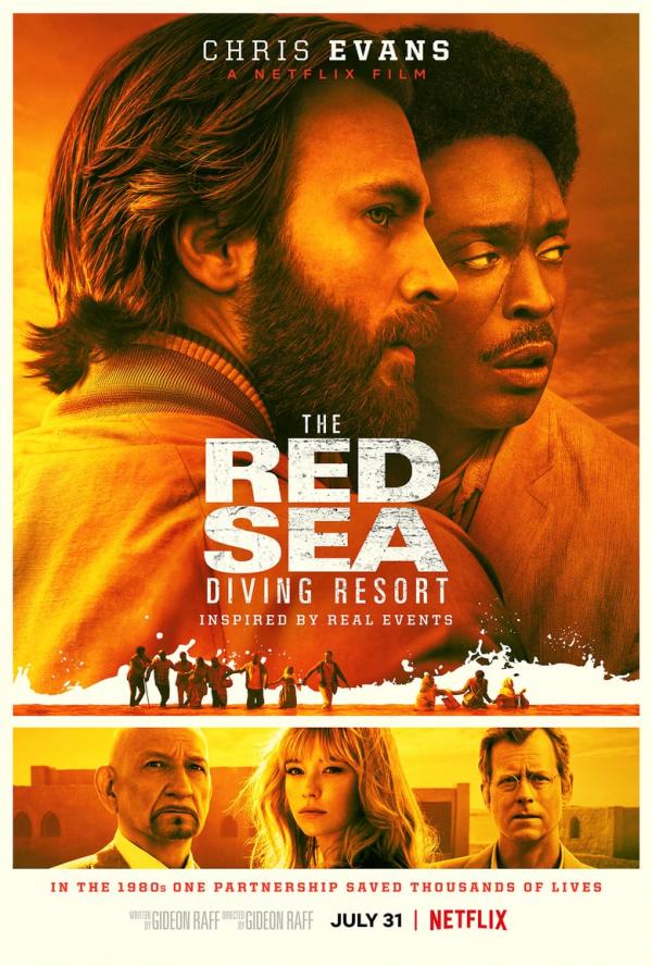'Đội trưởng Mỹ' Chris Evans lại làm anh hùng trong phim mới The Red Sea Diving Resort
