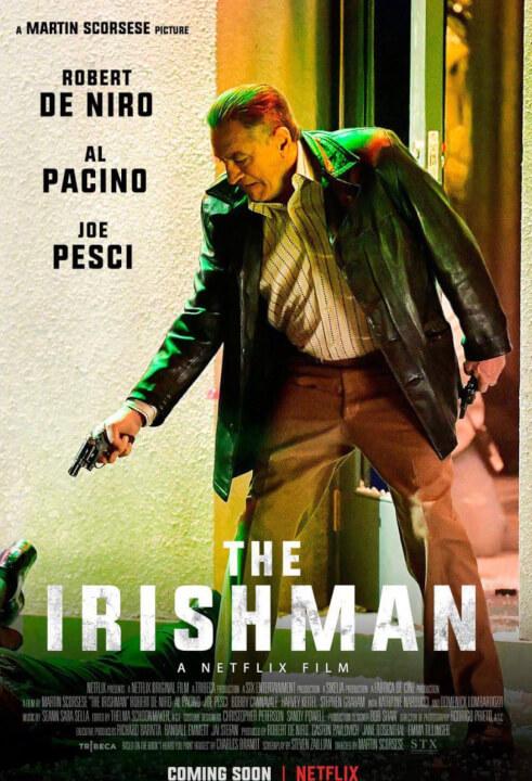 'The Irishman' quy tụ 'bộ tứ huyền thoại' của điện ảnh thế giới, hứa hẹn trở thành tác phẩm kinh điển