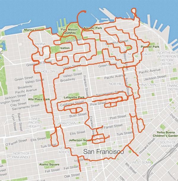 Người đàn ông chạy bộ hàng chục cây số chỉ để đến cuối được chiêm ngưỡng điều kì diệu này