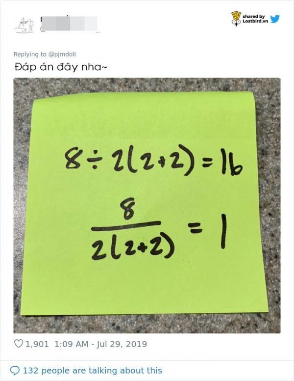 Chỉ có 1 trong 1 triệu người giải đúng phép toán khó nhằn này