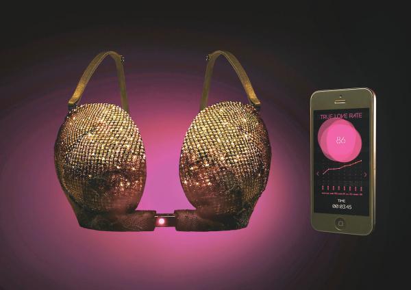 Nhật phát minh áo ngực thông minh chỉ mở bung nút khóa khi chị em gặp đúng crush