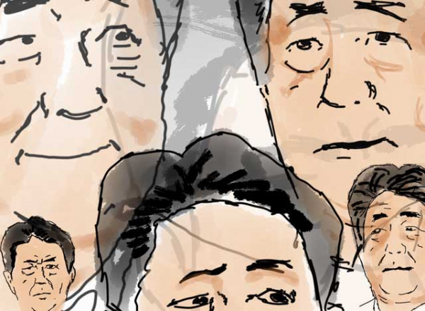 8 giây giải trí cùng với Thủ tướng Nhật Shinzo Abe